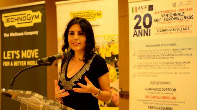 Daniela Sbrollini Ventennale ANIF