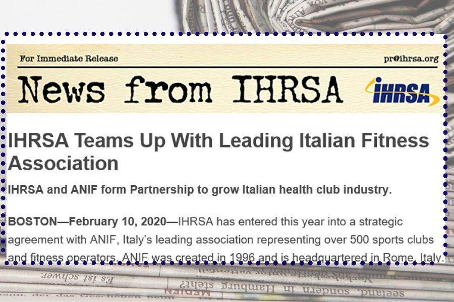 News from IHRSA