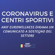 coronavirus e centri sportivi